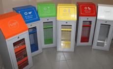 ящики для сбора мусора в подъезде